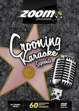 Zoom Karaoke Crooning Jazz Swing Crooners Superhits DVD - 60 tracks on 2 DVDs