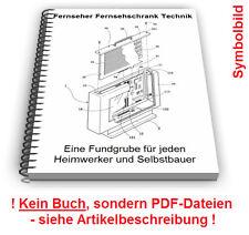 Fernseher Fernsehschrank TV Schrank selbst bauen - Technik Patente