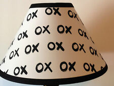 Emily & Merritt Xoxo Fabric Nursery Lamp Shade M2M Pottery Barn Kids Bedding