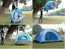 Camping Dome Tent Automatic Instant Pop Up 3-4 Person Single Layer Random New