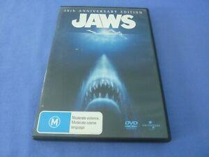 Jaws 30th Anniversary DVD Robert Shaw Richard Dreyfuss Region 2,4,5