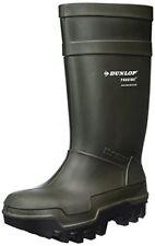 Stivali da lavoro Dunlop Purofort Thermo massima sicurezza termici Verde scuro