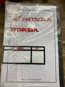 Honda NBC110 Super Cub NBC110 Postie Bike Motorcycle Service Manual Repair Book