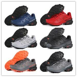 Mens outdoor Salomon Speedcross 5 GTX Nocturne Athletic Running Sports Shoes Hot