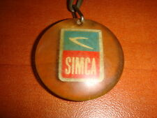 Simca Chrysler Cars old Key Chain , from the 1969's  Vintage Automobilia Truck