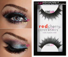 Lot 3 Pairs AUTHENTIC RED CHERRY #74 Zoey False Eyelashes Human Hair Lashes
