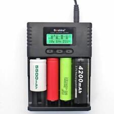 Smart Charger Soshine H4 LCD universale per 26650 18650 Li-ion 1.2VC AA AAA