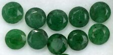 EMERALD 10 MM ROUND CUT CALIBRATED BEAUTIFUL GREEN COLOR