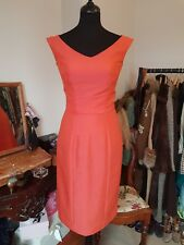Vintage 1950s Wiggle Dress Size 8 Sexy Mad Men Pencil