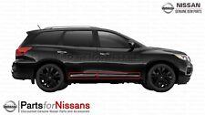 Nissan 2013-2019 Pathfinder Door Chrome Guard Molding Kit Set of 4 Body Side OEM