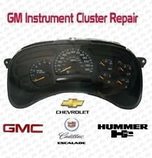 GMC YUKON Instrument Cluster REPAIR SERVICE SPEEDOMETER 2003-2006 Chevy GM