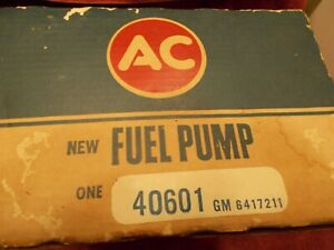 1968 Pontiac 40601 NOS AC GM Fuel Pump OEM Vintage GTO
