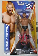 Randy Orton Signed WWE Action Figure BAS Beckett COA Pro Wrestling Superstar #57