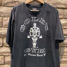 VTG 90s Faded Black Golds Gym Pt. Pleasant Beach New Jersey T Shirt 2XL