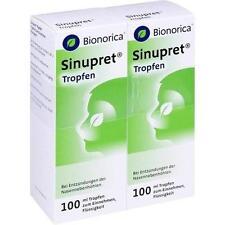 SINUPRET Tropfen 2X100ml PZN 3243861