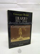 Giuseppe Bottai: Diario 1935-1944 Rizzoli 1982 Fascismo Storia Guerri Illustrato