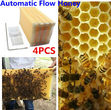 4Pcs Upgraded Bee Hive Auto Raw Honey Beekeeping Beehive Frames Harvesting