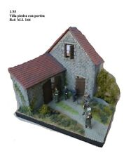 WWII diorama village house country 1/35 accessories building ruins