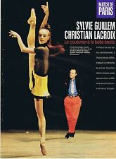 COUPURE DE PRESSE CLIPPING 1998 SYLVIE GUILLEM & CHRISTIAN LACROIX (3 pages)