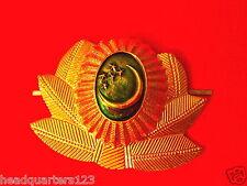 CA UDSSR Sowjetunion Abzeichen Mützenabzeichen Armee Offizier TURKMENIEN (Kranz)