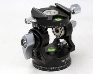 New Version Buddiesman VH3 IV 2 Way Pan/Tilt Head Panoramic Tripod Head for DSLR