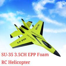 SU-35 3.5CH RC Helicopter Plane Glider EPP Foam Remote Control Airplane Toys USA