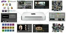 Loaded Mac Mini: ProToolsHD/700+Plugins/WavesPlugins/Adobe CS6/Ableton/Final Cut