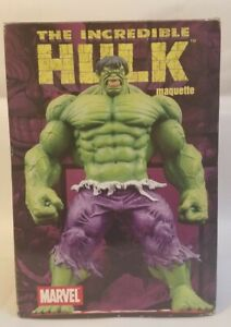 Diamond Select Incredible Hulk Maquette Statue Limited Edition 526/3000 Marvel