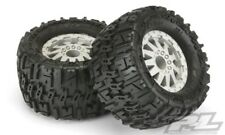 "Pro-Line Trencher 2.8"" Mounted Tires / Wheels Traxxas Rear Stampede / Rustler"