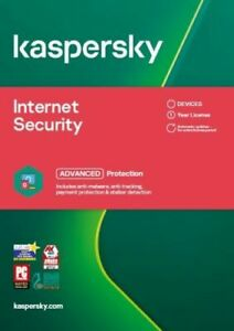KASPERSKY INTERNET SECURITY 2021 - 1 PC DEVICE - PC MAC ANDROID - Download