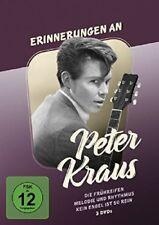 ERINNERUNGEN AN PETER KRAUS  3 DVD NEU