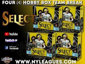 2020 Panini Select Football 1/3 Case 4 Hobby Box Break |#A60