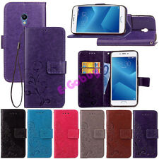 For Meizu M3S Note 5 PU Leather Case Magnetic Flip Stand Card Slot Wallet Cover