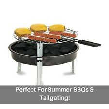 Grill Boss Portable Charcoal Grill + 1.2-Lbs. of Charcoal, 12-In. tailgating