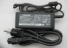 Original AC Power Battery supply Charger cord fits Toshiba PA3467E-1AC3 A135 L30