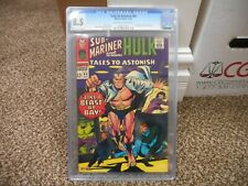 Tales to Astonish 84 cgc 8.5 Marvel 1966 Submariner Hulk cover ow/w pgs Stan Lee
