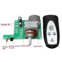 9V Infrared Remote Control Volume Control Board ALPS Pre AMP Motor Potentiometer