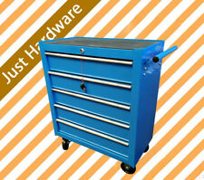5Drawer Metal Tool Cabinet Chest Box Home Mechanic Trolley Storage Blue Toolbox.