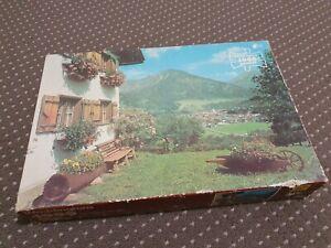 4000 piece Waddingtons Jigsaw Puzzle - Oberstdorf, Germany **VERY RARE**