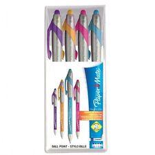 Papermate FlexGrip Elite Pen 1.4mm Retractable School Uni Ballpoint Tip #798126