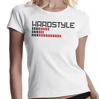 Hardstyle EQ Techno Club Equalizer DJ Music Women Lady Damen Girlie T-Shirt