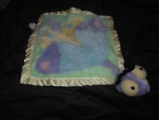 My Banky Baby Dragonfly Pastel Security Blanket Stuffed Animal Plush Lovey Toy