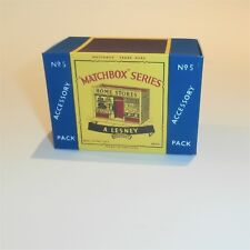 Matchbox Lesney Accessory Pack 5 Home Store empty Repro C style Box