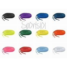 "2 pairs of Mizuno Allsport Shoe Laces 370201 47"" 51"" Colors Baseball Softball"