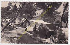 CPSM 13800 ISTRES Etang de Berre le Camping animé Edit SOCIETE DE FRANCE