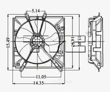 TYC 600150 Radiator Fan Assy