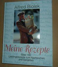 """ALFRED BIOLEK  """"Meine Rezepte"""" Über 100 Lieblingsrezepte"""