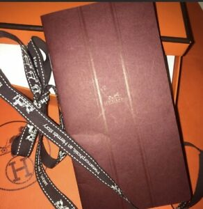 100% Authentic Hermès Address Book With Box And Bag Ribbon