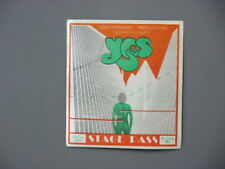 Yes backstage pass AUTHENTIC October 5, 1977 St Louis, Missouri  !!