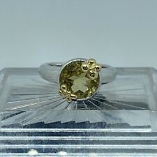 Sterling Silver Butterfly China Ring Size 7.25